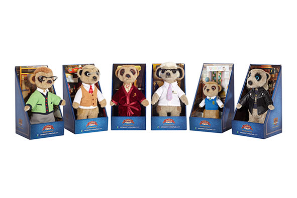 Memorable Merchandise Meerkat Toy