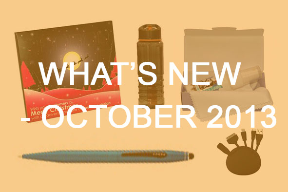 What's New October 2013