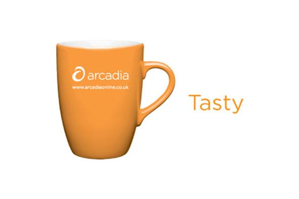 Orange Promotional Mug