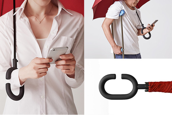 Phonebrella Hands-Free Umbrella