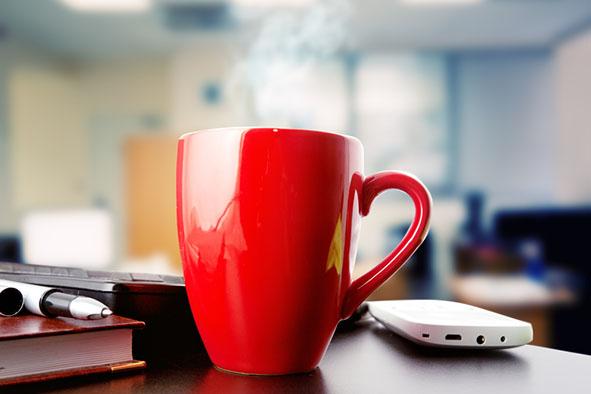 Promotional Red Mug