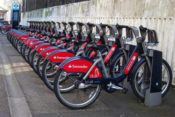 Santander Branded Bikes