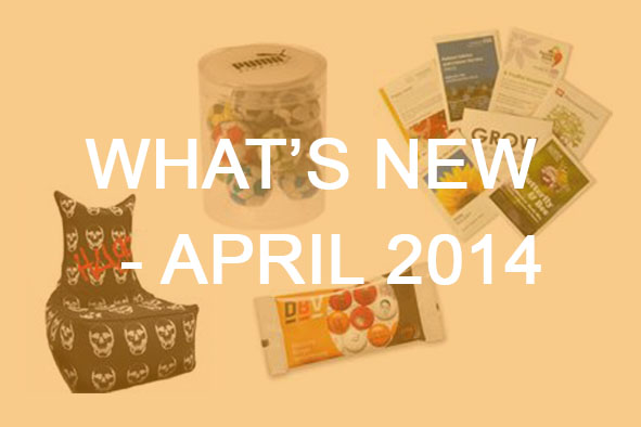 What's New April 2014