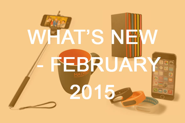 What's New February 2015