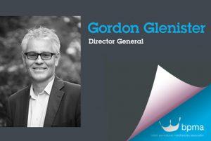 Gordon Glenister, British Promotional Merchandise Association