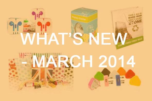 What's New March 2014