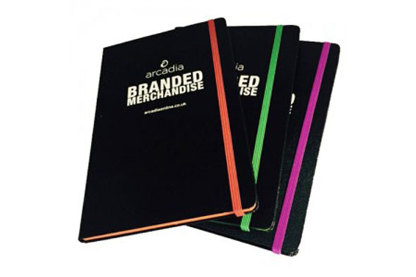 Promotional Notebooks Branded With Logo