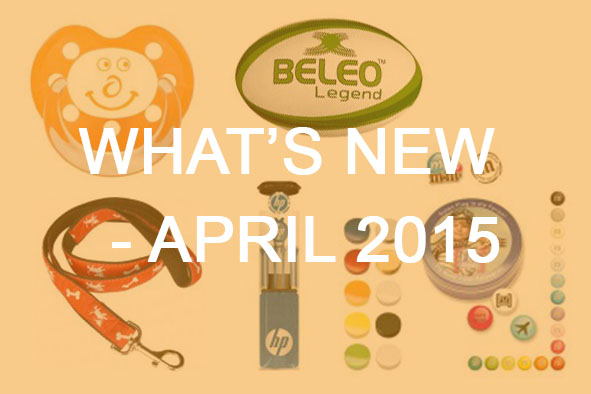 What's New April 2015